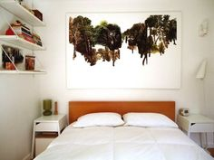//LONDON BEDROOM./ Teeny, Tiny (Room for a Bed But Not Much Else) Bedroom Decorating Tips