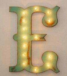 $79.99 - 24 LARGE Vintage Style Wood Letter by JunkArtGypsyz on Etsy