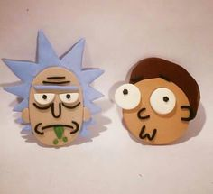 Rick & Morty from Sculpy clay