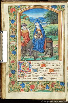 Book of Hours, MS M.1114 fol. 28v - Images from Medieval and Renaissance Manuscripts - The Morgan Library & Museum