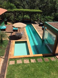 Small Backyard Design, Garden Design, House Design, Luxury Swimming Pools, Red Chilli, Outdoor Living, Outdoor Decor, Concept Architecture, Pool Houses