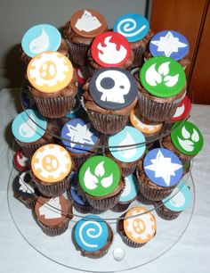 Skylanders cupcakes from caketheatercom I might try to do the