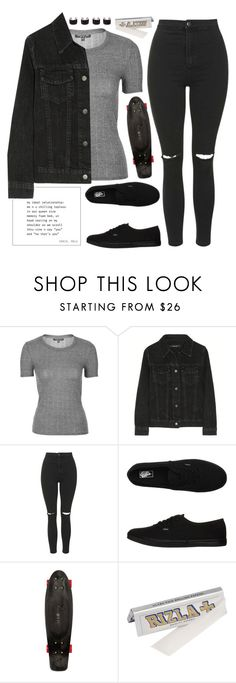 """""""224 - 19/03/16"""" by dreams-of-vogue ❤ liked on Polyvore featuring Topshop, J Brand, Vans, Quiksilver and Maison Margiela"""