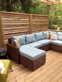 Incredible backyard patio garden privacy screen ideas (65)
