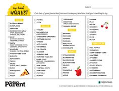 School lunches: Printable meal planner for quick easy ideas you'll both love