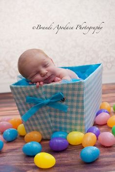 Newborn Easter  Brandi Apodaca Photography