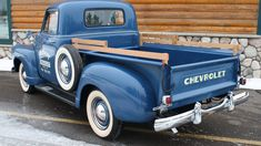 Chevy trucks aficionados are not just after the newer trucks built by Chevrolet. They are also into oldies but goodies trucks that have been magnificently preserved for long years. 54 Chevy Truck, Chevy Pickup Trucks, Chevy Pickups, Gmc Trucks, Diesel Trucks, Cool Trucks, Lifted Chevy, Chevy Stepside, Farm Trucks