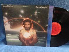 Vintage Kenny Loggins  Keep The Fire Vinyl LP by sweetleafvinyl