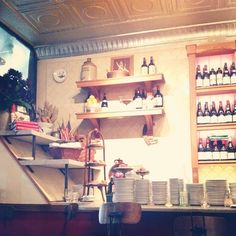 coco love & teaspoons and petals at Buvette NYC