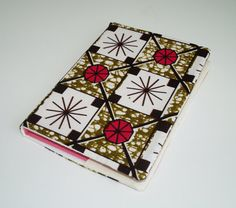 African print reusable notebook A5 cover by MuffinSistersLnd