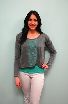 Sweater Crop Top! http://www.shopwildflowerboutique.com/new-products/sweater-crop-top