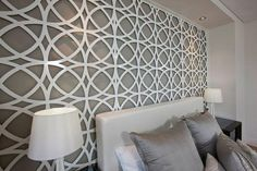 ideas feature wall bedroom - Google Search