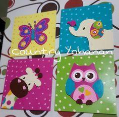 cuadros para niña - Buscar con Google Preschool Decor, Baby Painting, Animal Crafts For Kids, Country Art, Baby Art, Paint Party, Animal Paintings, Kids Playing, Decoration