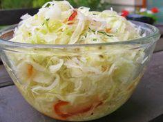 V kuchyni vždy otevřeno ...: Pikantní kvašené zelí ( na zimu ) Kimchi, Pickles, Potato Salad, Cabbage, Ale, Potatoes, Homemade, Vegetables, Cooking