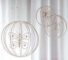 Gold Beaded Spheres
