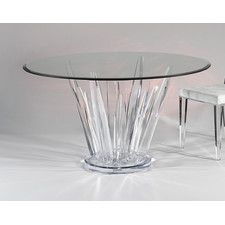 Beautiful Cosmo Round Dinette Table by Leading Acrylic Furniture Manufacturers- Sharooz-Art. We also deal in Acrylic Coffee Tables. Lucite Furniture, Acrylic Furniture, Glass Furniture, Dining Furniture, Modern Furniture, Dinning Room Tables, Dining Table In Kitchen, Round Kitchen, Furniture Manufacturers