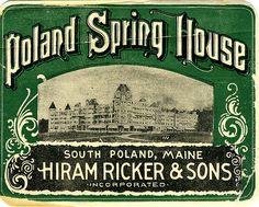 poland spring house