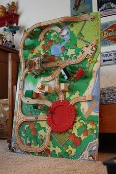 Piccoli Piselli: Reversible Train Table/Play Table Tutorial