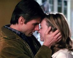 """""""You complete me""""   Jerry (Tom Cruise) & Dorothy (Rene Zellweger)"""