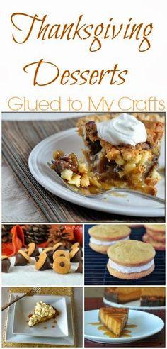 Thanksgiving Desserts {Recipe Roundup}