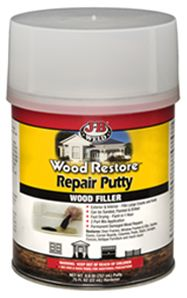 J-B Wood Restore Repair Putty - J-B Weld www.jbweld.com