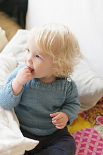 'binic' knitting pattern. sized for baby to toddler