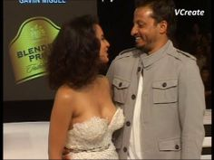 Kangana Ranaut assets exposed at blenders pride fashion tour.