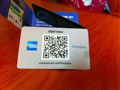 amex foursquare card #Loyalty #Marketing #Lmtg