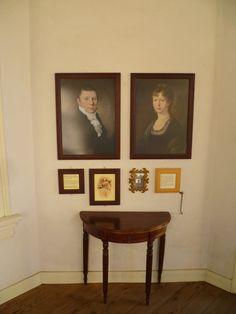 2013-12-01 De heer en mevrouw Staring vereeuwigd op het doek