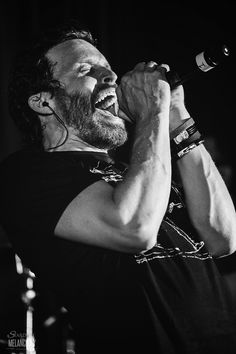 """Rob Benedict, singing """"With a Little Help From My Friends""""."""