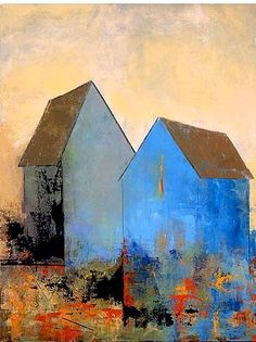 Image result for abstract barn painting #LandscapeCollage