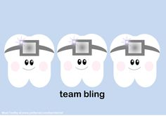 Team Bling. #Braces #Dental