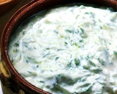 Tzatziki, ahogy a görögök készítik (nagyjából) Tzatziki, A Food, Food And Drink, Coleslaw Salad, Cabbage Salad, Fitness Diet, Healthy Living, Yummy Food, Healthy Recipes
