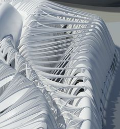 The exterior shapes. Futuristic Architecture, Parametric Design Studies on Novel Interiorities for Existing Structural Systems / from Evolo. Parametric Architecture, Parametric Design, Architecture Old, Futuristic Architecture, Drawing Architecture, Architecture Diagrams, Magazine Architecture, Architecture Magazines, Architecture Portfolio