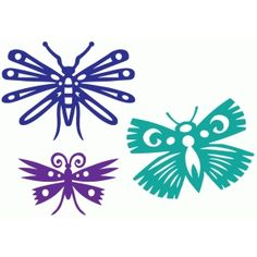 Silhouette Design Store - Search Designs : butterflies
