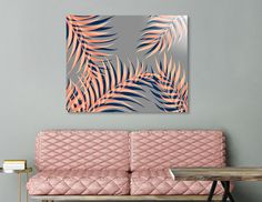 Discover «Palms Vision II», Limited Edition Acrylic Glass Print by DesigndN - From 95€ - Curioos