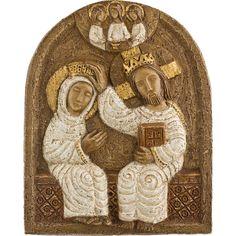 Couronnement de la Vierge - Artisanat des Monastères des PS de Bethléem