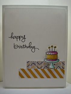 Goin' Over The Edge: Endless Birthday Wishes  Stampin' Up!