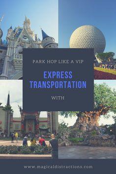 The benefits to using Disney Express Transportation in Walt Disney World.