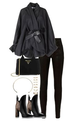 """""""Untitled #3666"""" by theeuropeancloset ❤ liked on Polyvore featuring rag & bone, Viktor & Rolf, Prada and Forever 21"""