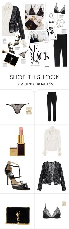 """Seductive"" by naki14 ❤ liked on Polyvore featuring Maison Close, Roksanda Ilincic, Balmain, Tom Ford, Alexander McQueen, Michael Kors, Chloé, Yves Saint Laurent, Van Cleef & Arpels and lingerie"