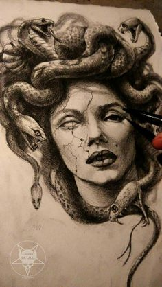 Medusa Drawing