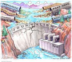 YELLOW JOURNALISM | Dec/23/16 Cartoon by Matt Wuerker -