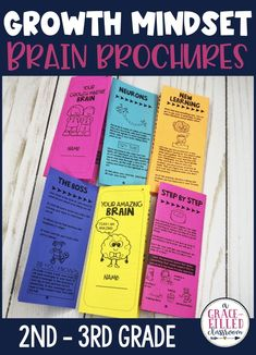 Use these Growth Mindset Brain Brochures for you next growth mindset activity. Help your students learn about their brain in a fun and engaging way. They learn all about the different parts of the brain and how it will help them with their growth mindset! #growthmindset #growthmindsetactivities #agracefilledclassroom