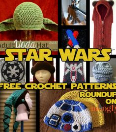 e2b38667ae3 Free Star Wars Crochet Patterns - Roundup on Moogly! TOTALLY making some of  this stuff for Christmas presents.I know too many people who love Star Wars!