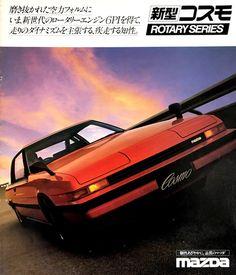 Classic Japanese Cars, Classic Cars, National Car, Japan Cars, Car Tuning, Love Car, Jdm Cars, Rotary, Mazda