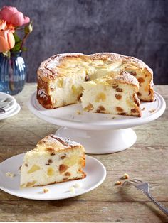 German Cake, Frank Rosin, Cake & Co, Baked Apples, Pampered Chef, Dessert Recipes, Desserts, Cakes And More, Bread Baking