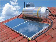 Painel fotovoltaico X painel para aquecimento de água