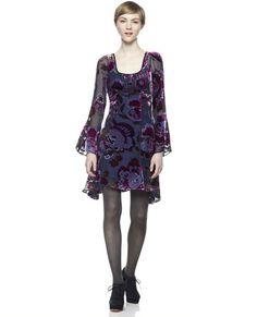 Dita Burnout Velvet Dress Nanette Lepore Dresses Her Hair