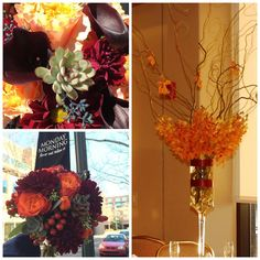 Here's some of yesterday's wedding. I'm going to post the bridal bouquet in full for you to enjoy. Thanks for looking. #mmflowers #flowers #florist #flowershop #arrangement #colorful #princeton #nj #yardley #wedding #bouquet #autumn #fall #bridalbouquet